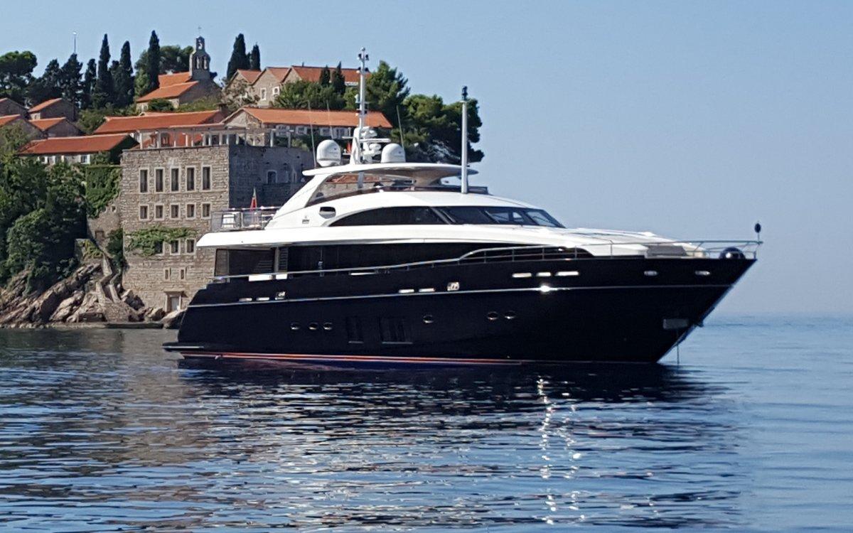 Princess 32:Actual Yacht