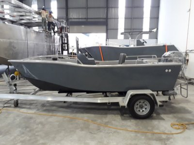 Sabrecraft Marine Centre Console 4.80 Boat Motor Trailer Package