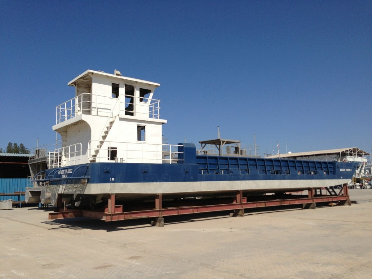 Sabrecraft Marine Landing Craft Barge 25.00 Meter LCT