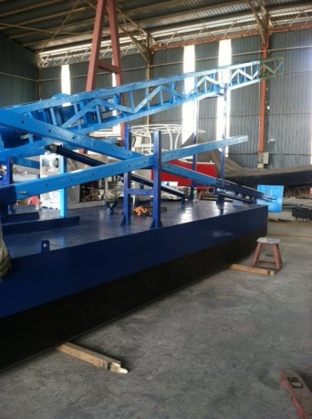 Sabrecraft Marine Barge Pile Driving Truckable Containerised