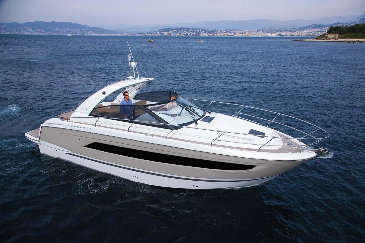 Jeanneau Leader 40 + Twin MerCruiser DTS 350hp
