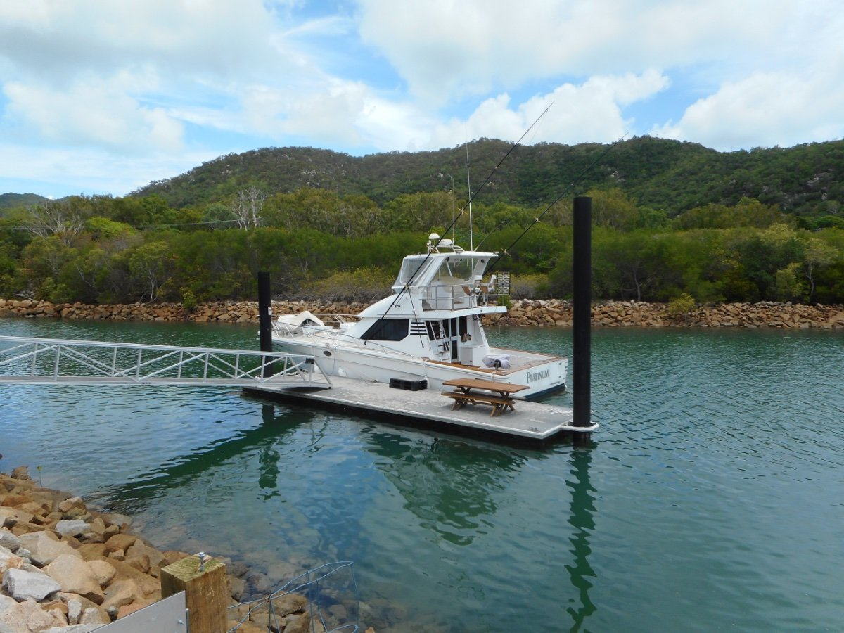 Precision 46 Game Fishing Flybridge Cruiser