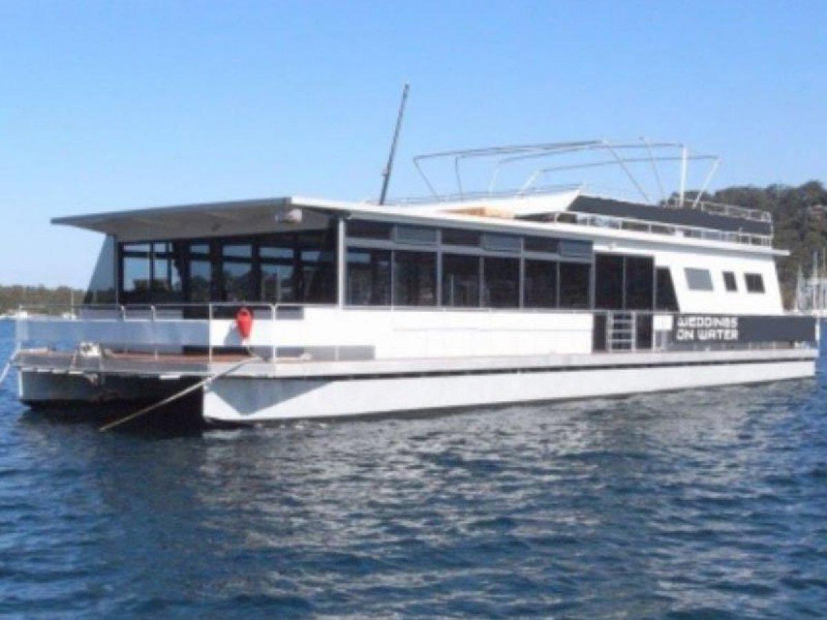 Custom Pontoon Charter Catamaran