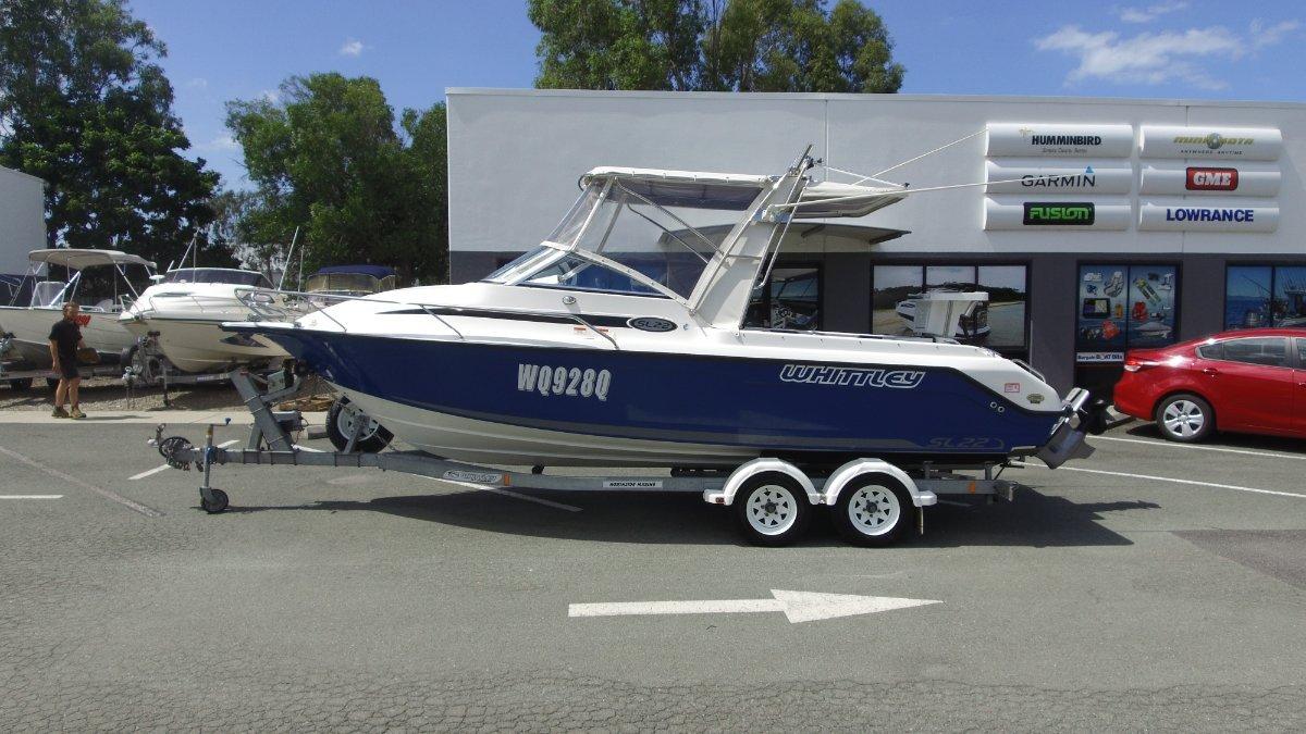 Whittley SL 22 + Volvo D3- 170hp-AG