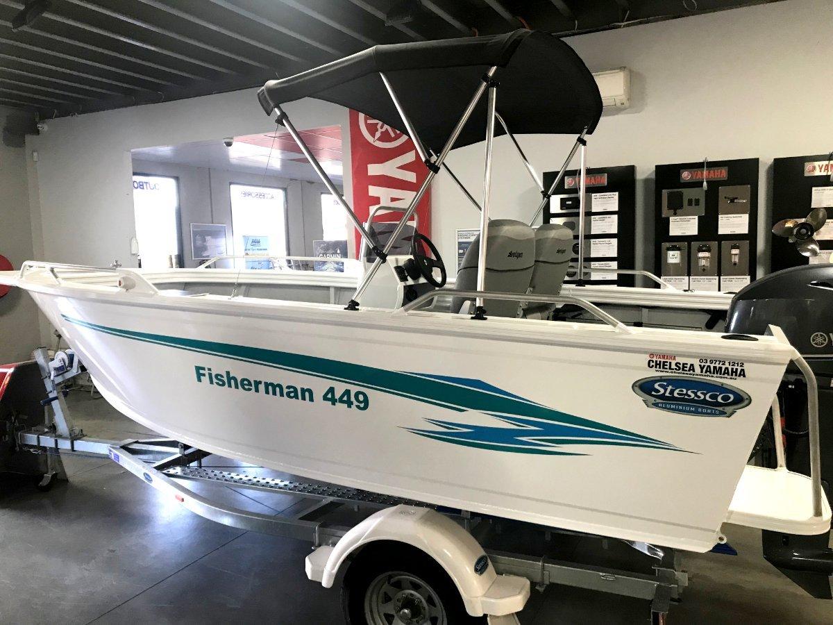 Stessco Fisherman 449 powered by 50 HP Yamaha 4 stroke $24636.00