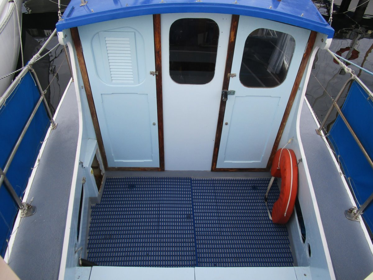Pompei Motor Sailer Kauri Strip Planked