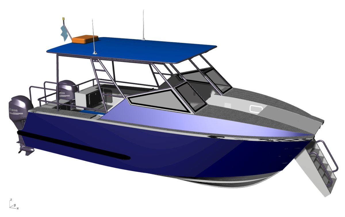 Sabrecraft Marine Powercat 8200