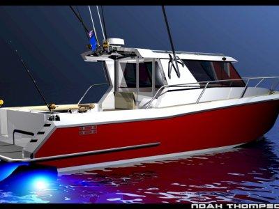 Sabrecraft Marine Sports Cabin Cruiser 11000