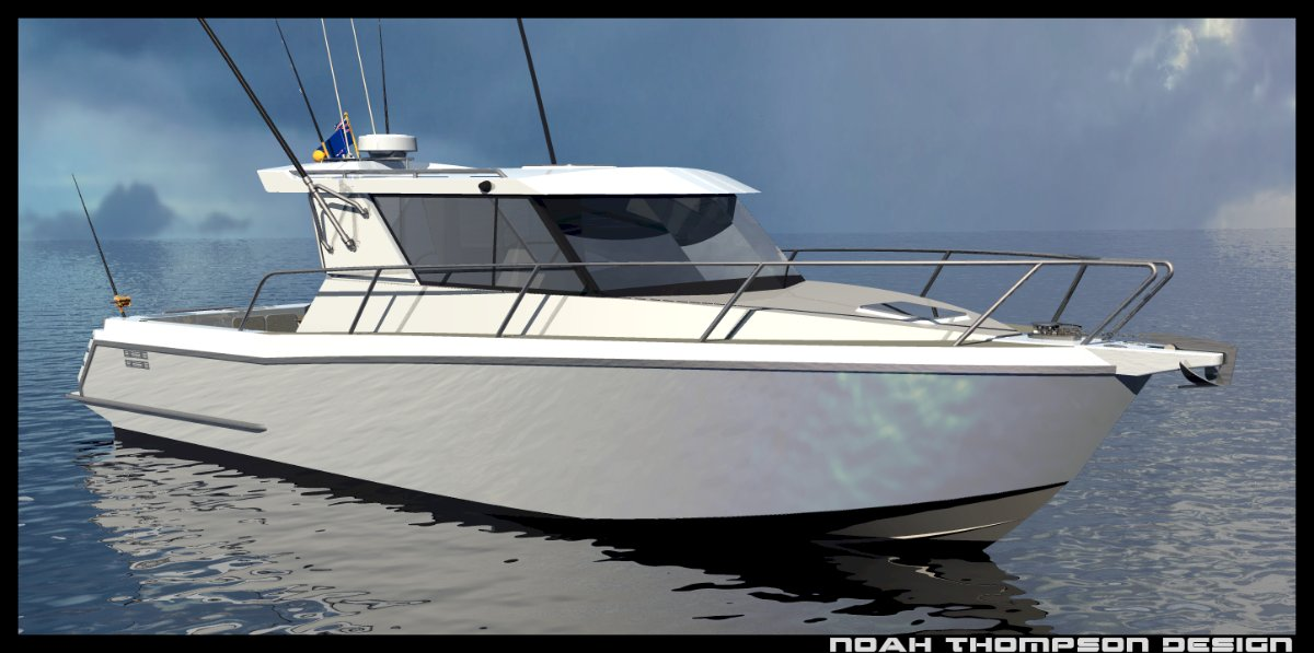 Sabrecraft Marine Sports Cabin Cruiser 11000