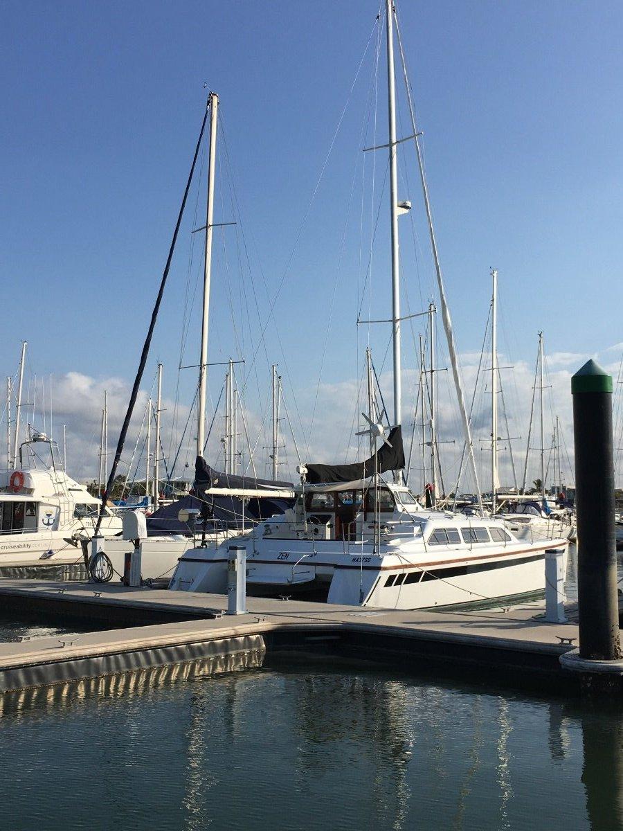 10 meter berths side by side Mooloolaba Yacht club Marina