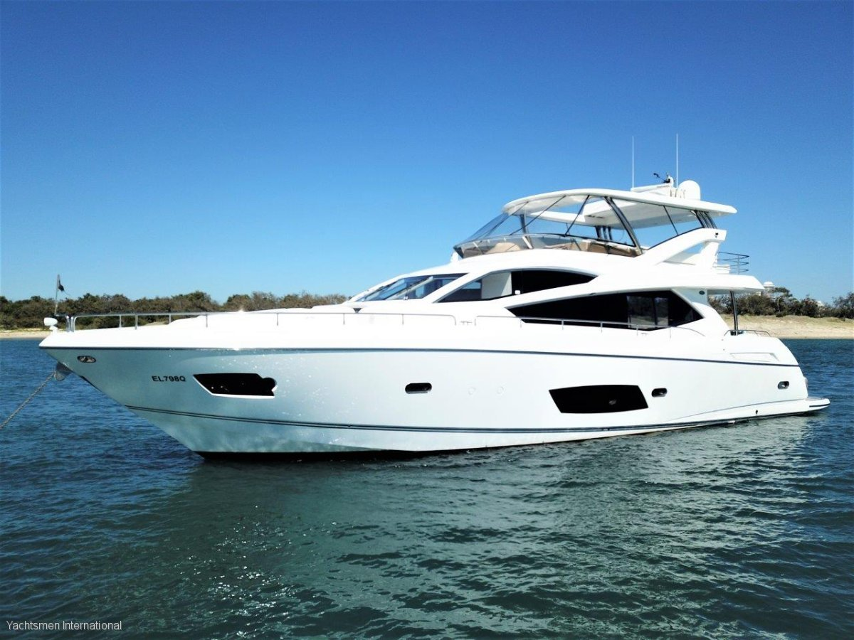 Sunseeker Manhattan 73 SUNSEEKER MANHATTAN