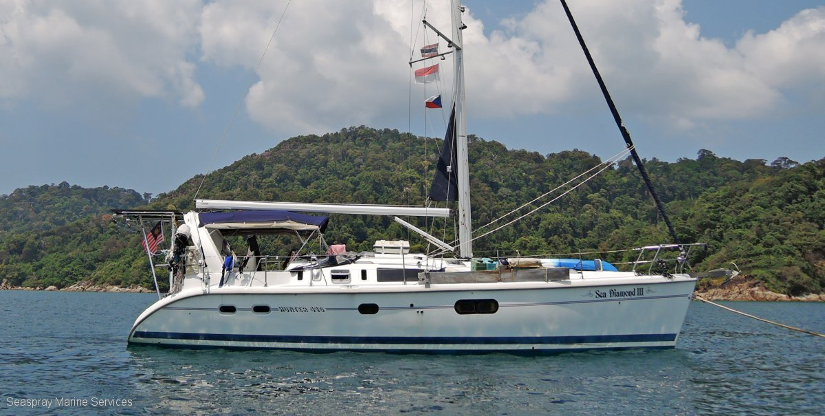 Hunter 41 Yacht For Sale in Langkawi.:Hunter 41 ft Yacht for sale
