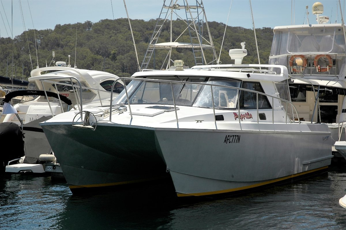Alloy Cat NZ 10.1 Planing Cat - SOLD