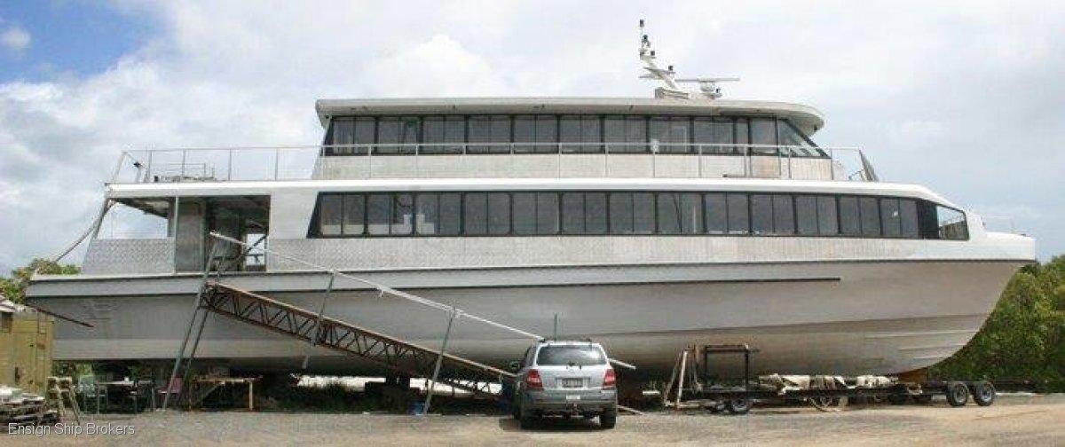 Westermoen Hydrofoil Catamaran 91ft