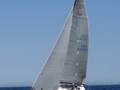Farr 40 Ocean racing with bowsprit - good racing pedigree