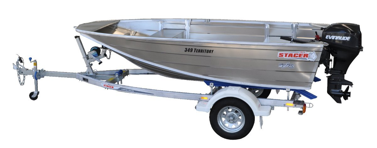 Stacer 349 Territory Striker HULL ONLY