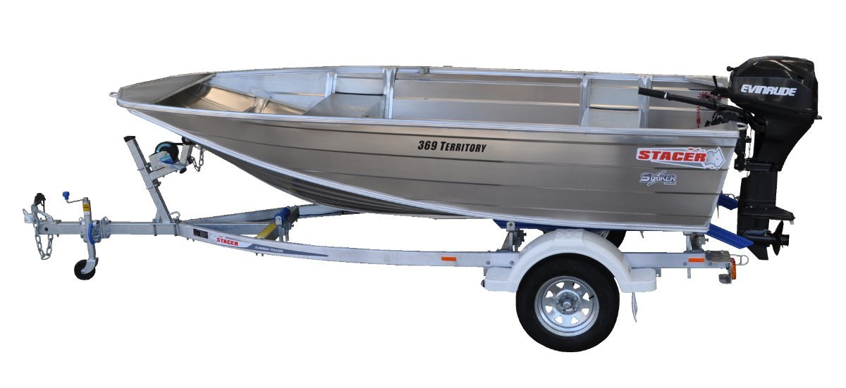 Stacer 369 Territory Striker HULL ONLY