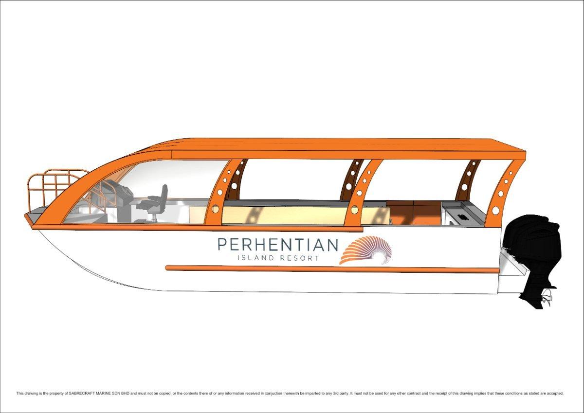 Sabrecraft Marine Resort Dive Boat 9.00m 15 Passengers