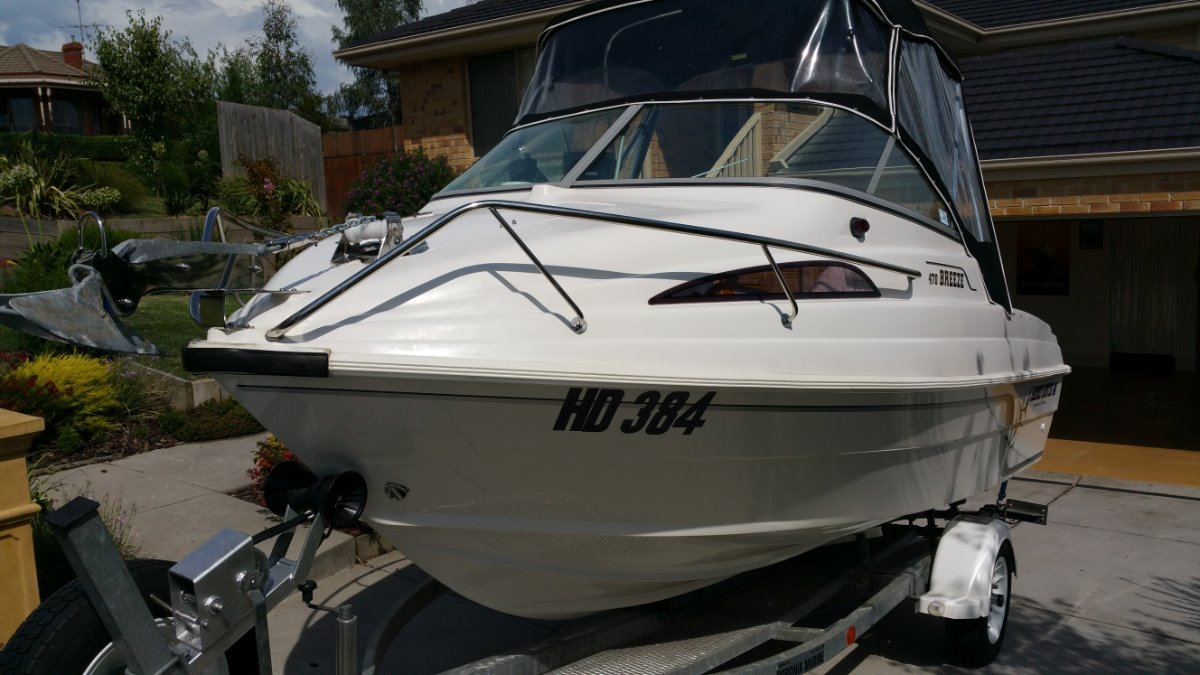 Haines Hunter 470 Breeze