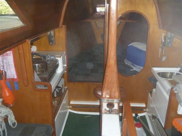 Kaufman 26 Original One Off Trailable Yacht