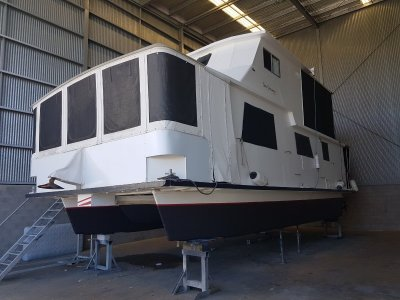Custom House Boat,