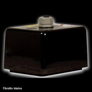 FURUNO 38BL 9HR 38kHz 2KW RUBBER TRANSDUCER & TRANSOM MOUNT FAIRING:Furuno 38BL 9HR 2 KW Transducer