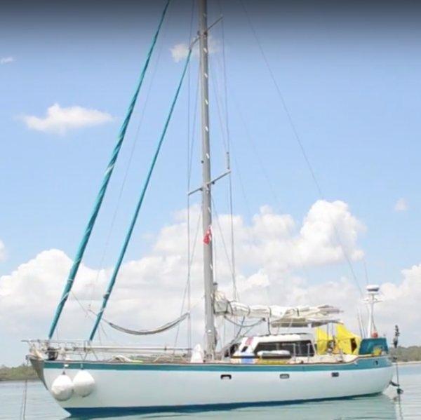 Swanson 42 cutter sloop