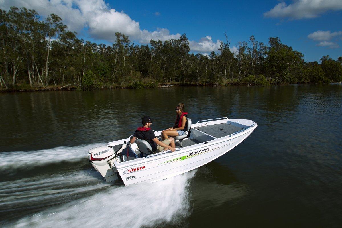 Stacer 409S Proline Angler + Yamaha F20 20hp Four Stroke Outboard Motor