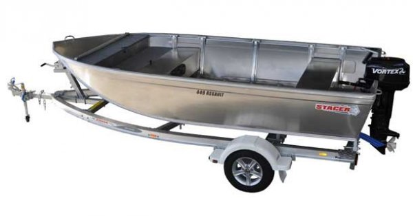 Stacer 449 Assault + Yamaha 30hp Two Stroke Outboard Motor