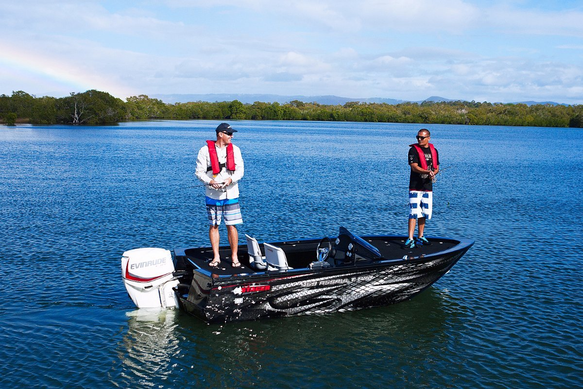 Stacer 459 Assault Pro + Yamaha 40hp Four Stroke Outboard Motor