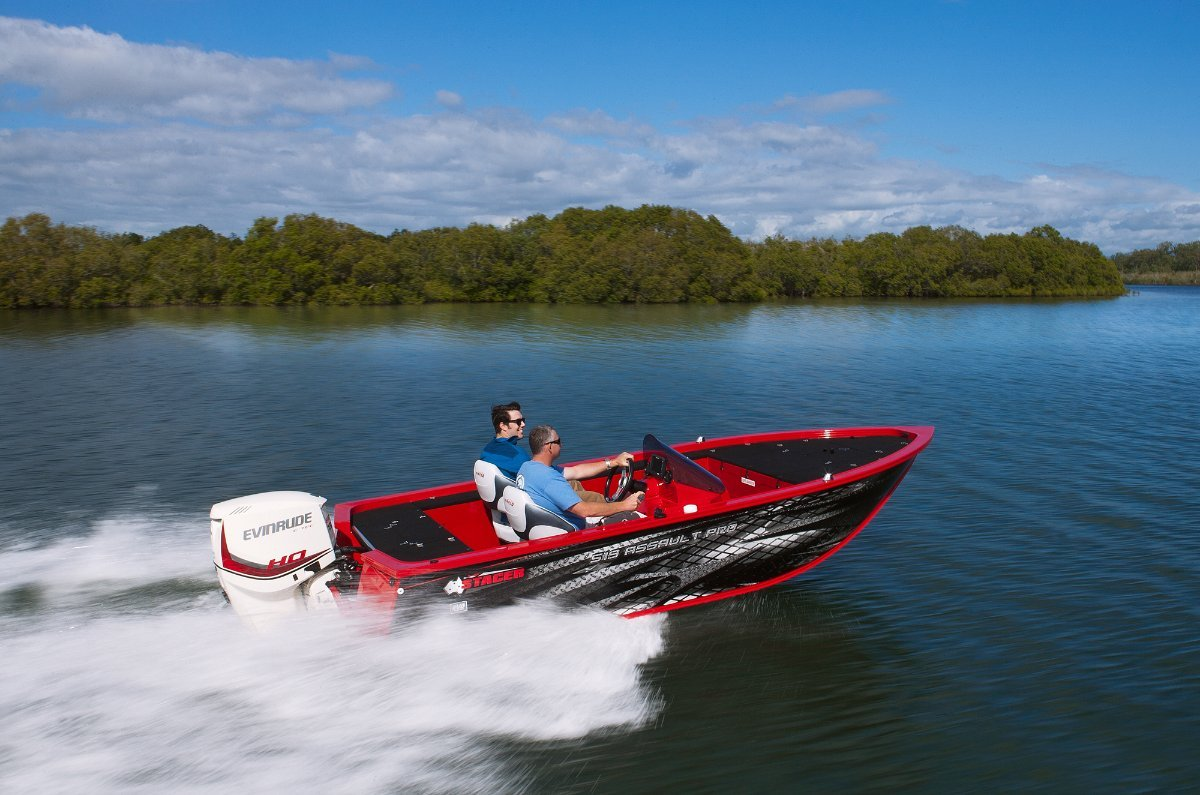 Stacer 519 Assault Pro + Yamaha 90hp Four Stroke Outboard Motor