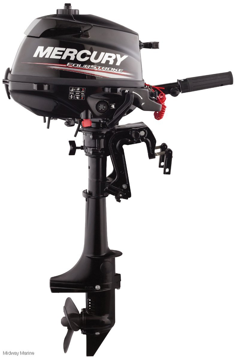 NEW MERCURY 3.5HP OUTBOARD