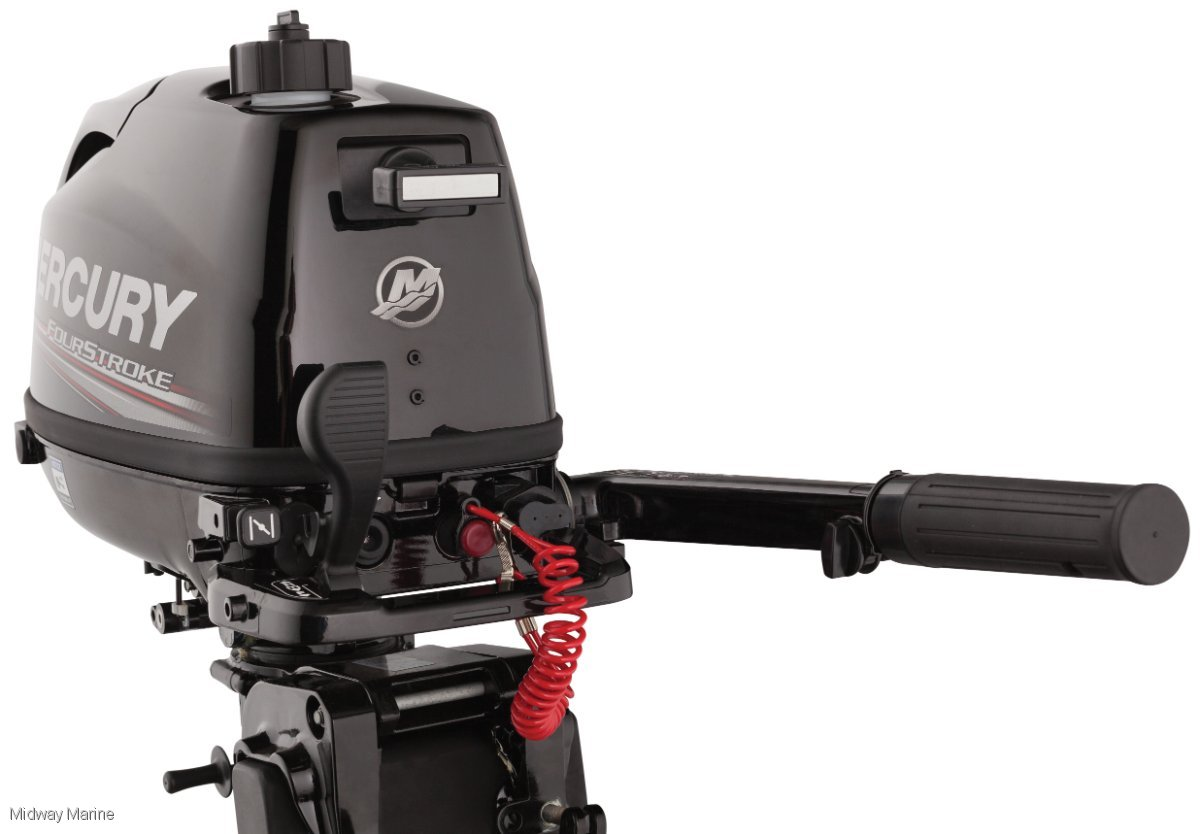 NEW MERCURY 4HP OUTBOARD