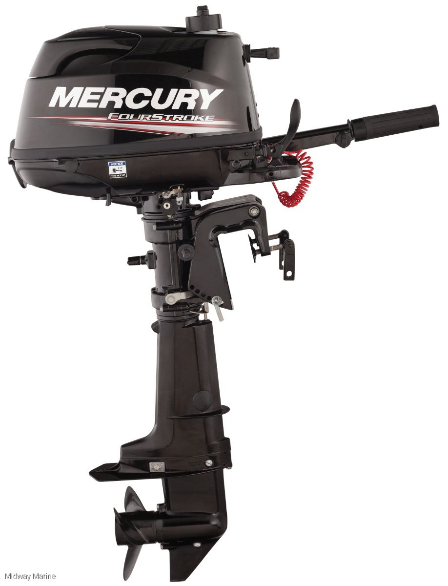 NEW MERCURY 6HP OUTBOARD