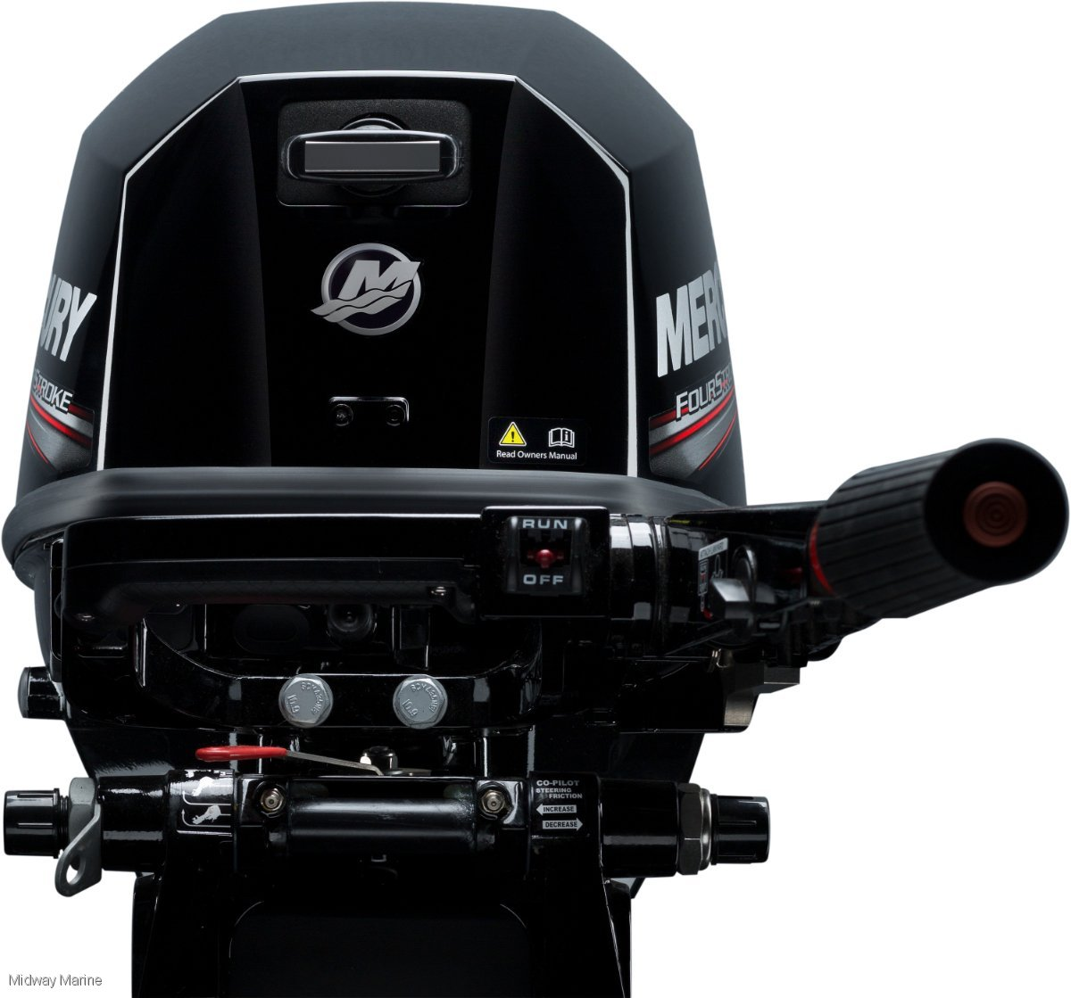 NEW MERCURY 8HP OUTBOARD