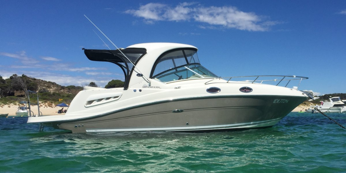 Sea Ray 275 Sundancer Limited edition, Boat show special