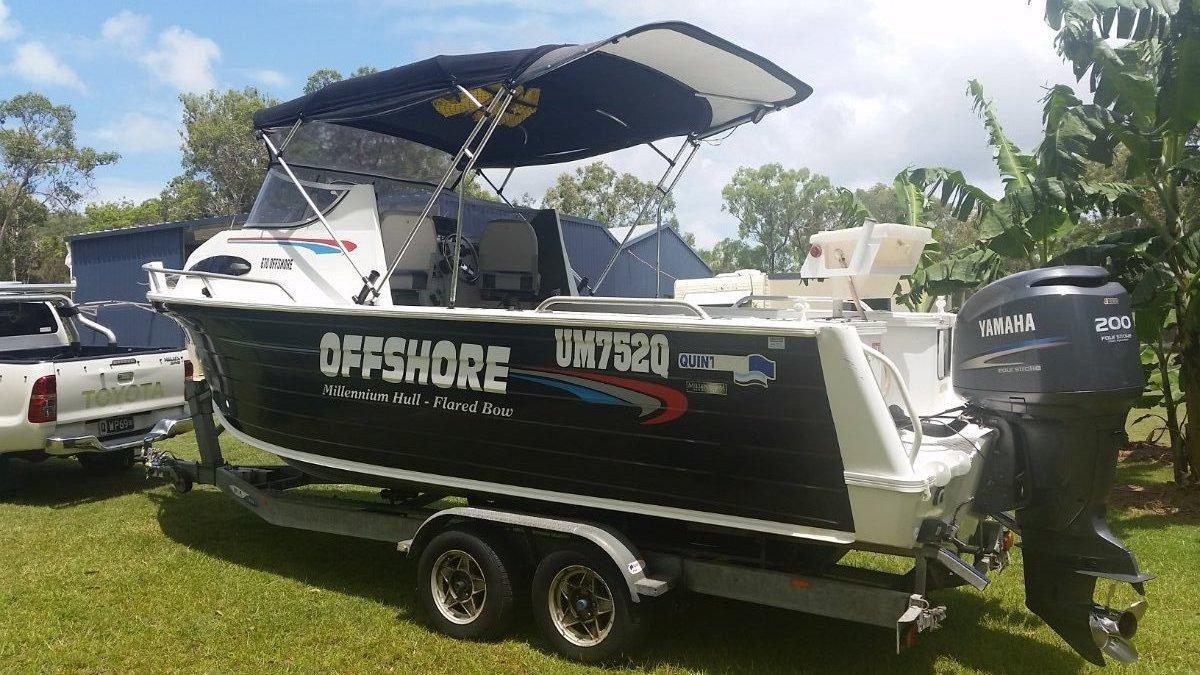 Quintrex 670 Offshore