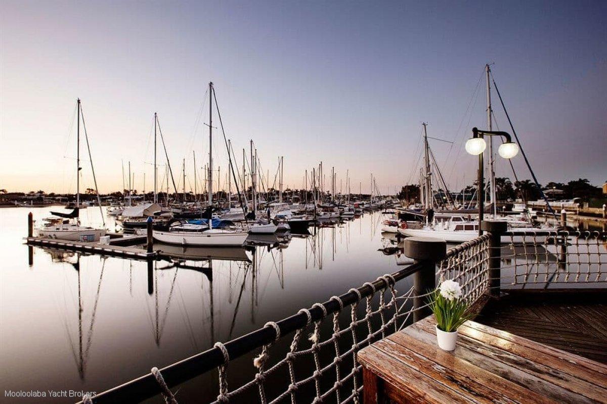 15m Multihull berth for sale at Kawana Marina on the Sunshine Coast Qld.