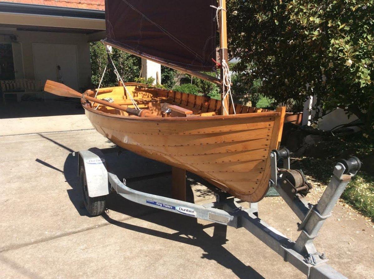 Timber Custom sailing dinghy