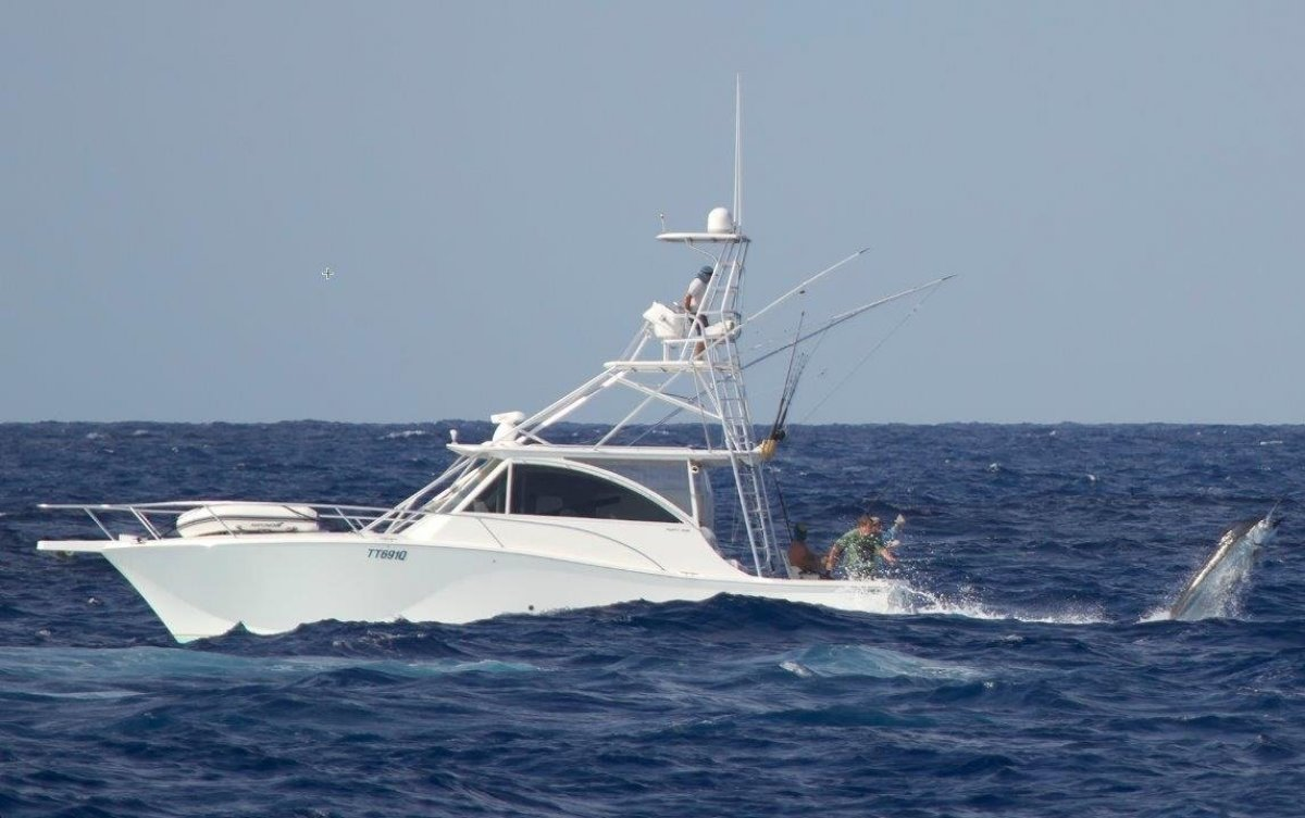 Luhrs 41 Open Tuna Tower