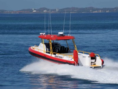 Kirby Marine NAIAD 10.5M DIESEL TWIN JET RIGID INFLATABLE- Click for more info...
