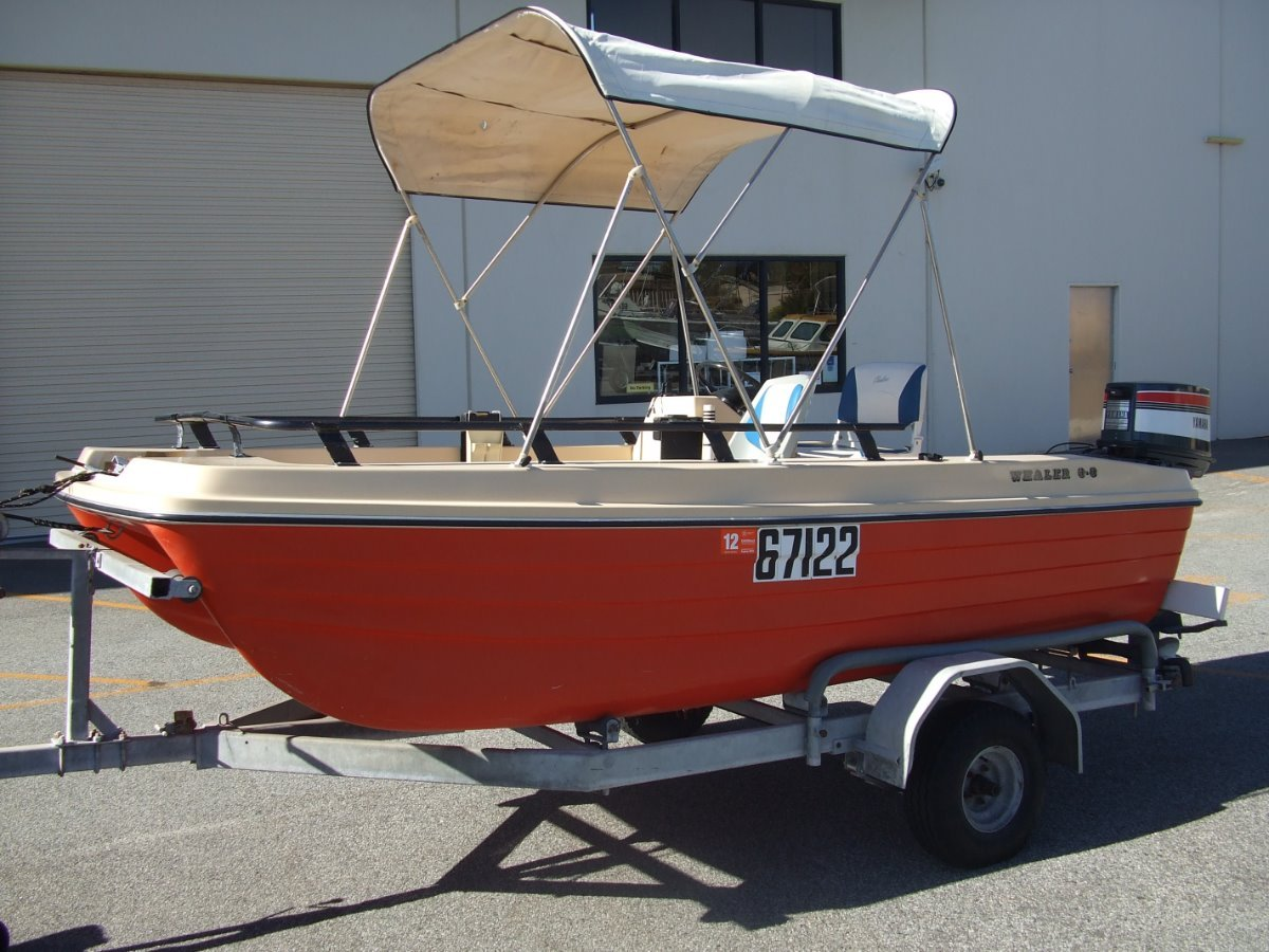 Whaler 380 Side Console Cat
