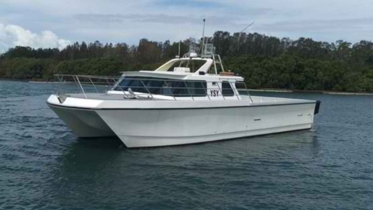 16m Fast Charter Power Cat