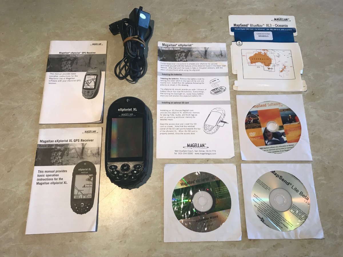GPS MAGELLAN eXplorist XL