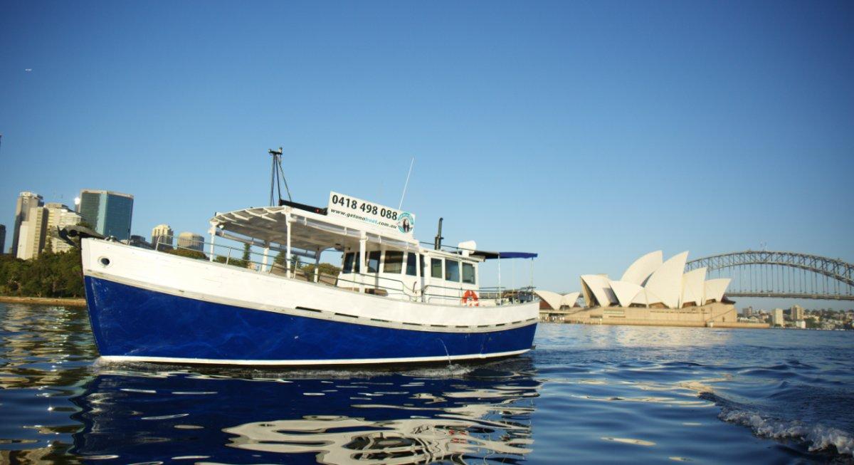Boden North Sea Very profitable charter boat Nett profit 100k+