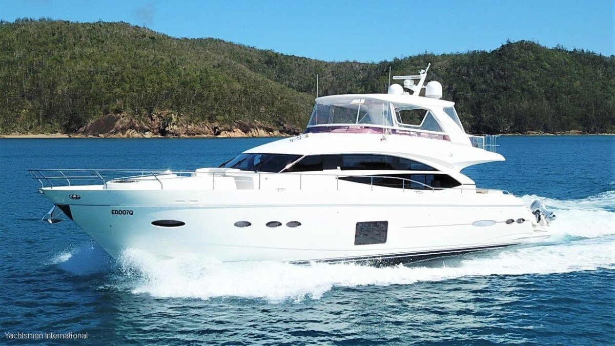 Princess P72 Motor Yacht Power Boats Boats Online For Sale