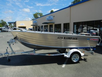 Stacer 429 Rampage + Yamaha 30HMHL 30hp Four Stroke Outboard Motor