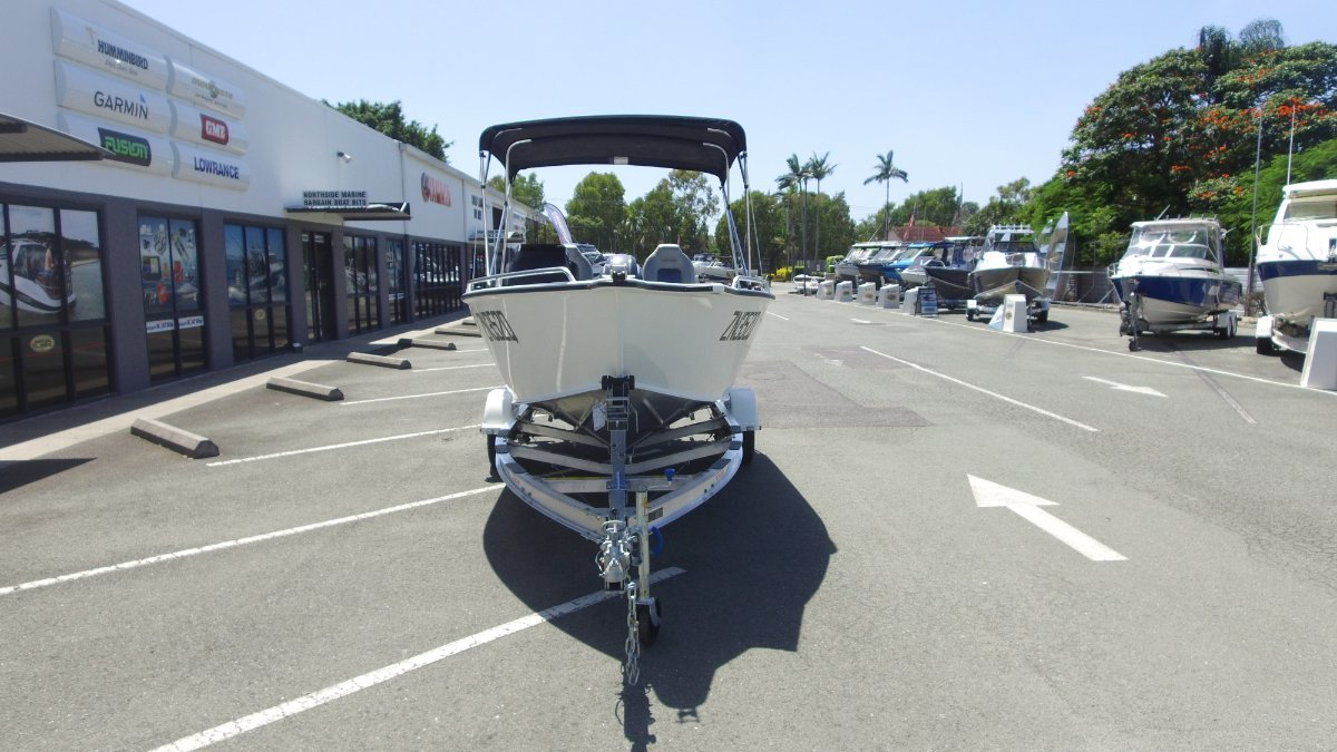 Stacer 489 Crossfire + Yamaha F50 50hp Four Stroke Outboard Motor