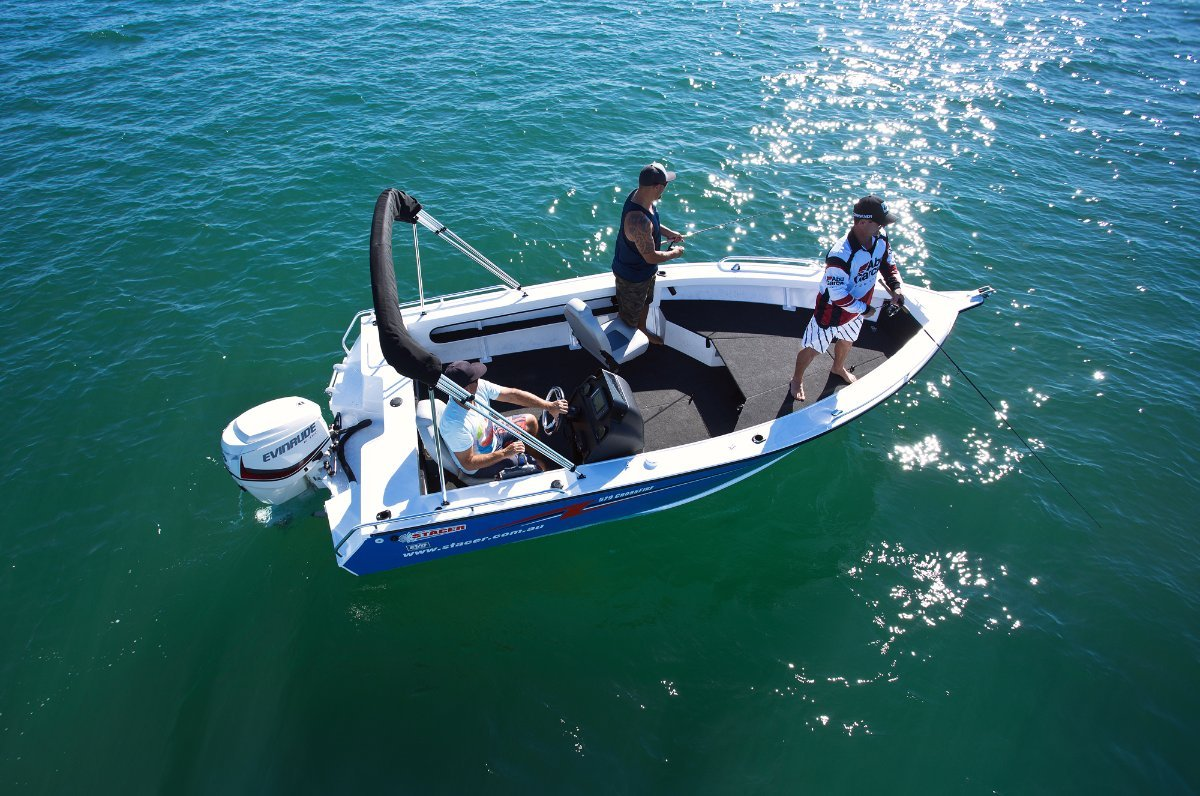 Stacer 579 CrossFire + Yamaha F90 4-Stroke Outboard Motor