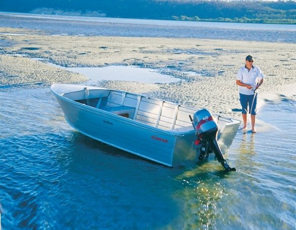 Stacer 489 Seahorse + Yamaha 40hp Four Stroke Outboard Motor